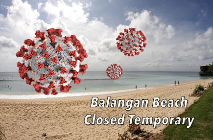 Although Closed, Balangan Beach Is Still Visited by Travelers