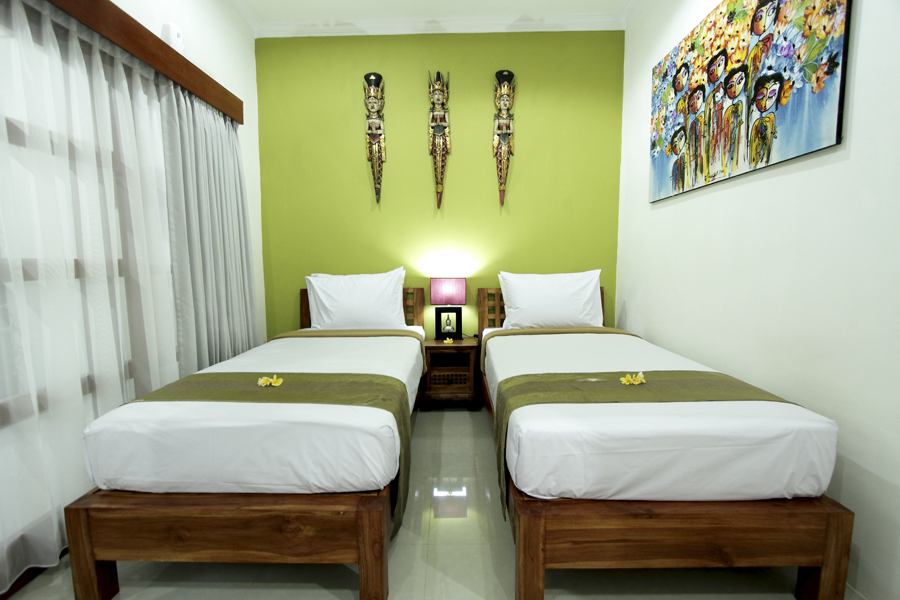 The Bedroom - Maha Residence Guest House